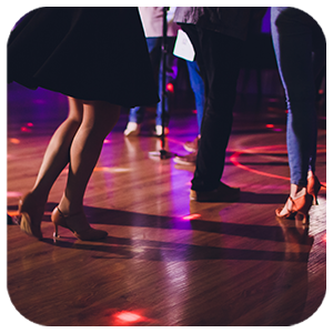 Tanzparty und Tanzabend
